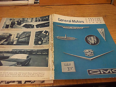1962 General Motors Annual Report, published the next year.
