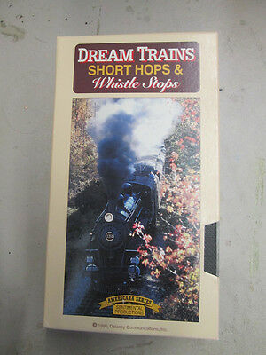 VHS Tape - Dream Trains Short Hops and Whistle Stops by Delaney Communications
