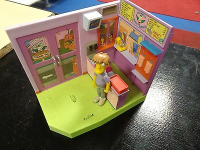 The Simpsons Interactive Krusty Burgers Environment With Pimply Face Teen