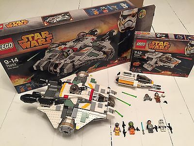 Lego Star Wars 75053 + 75048 Complete
