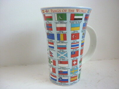 Dunoon Flags Of The World Mug By Caroline Dadd