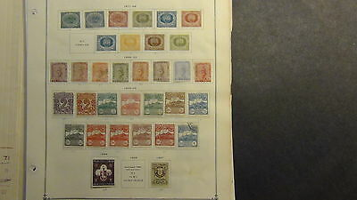 San Marino stamp collection on Scott International pages to '77