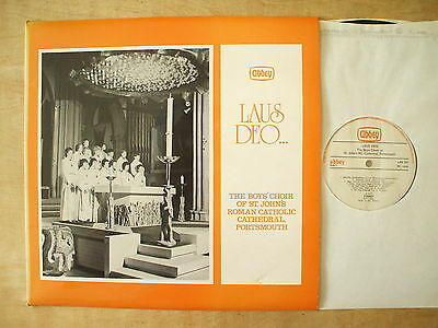 Boys Choir Of St Johns Roman Catholic Cathedral Portsmouth 1977 Lp Record