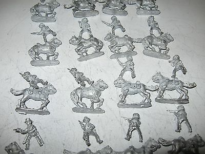 Wargames figures [8] -Confederate cavalry-20 mm scale