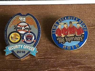 Little League World Series Pin - 2016 Security Officer & Mag Supervisors