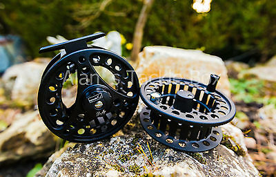 WSB DI-Fly Fly Fishing Reel Spare Spool 7/8 Tackle line flies hooks alloy s
