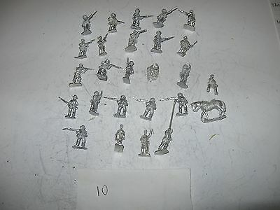 Wargames figures [10] -Confederate infantry-20 mm scale