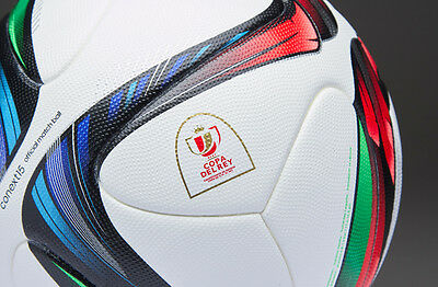 Brand New Adidas Context15 Copa Del Rey Official FIFA Match Ball OMB