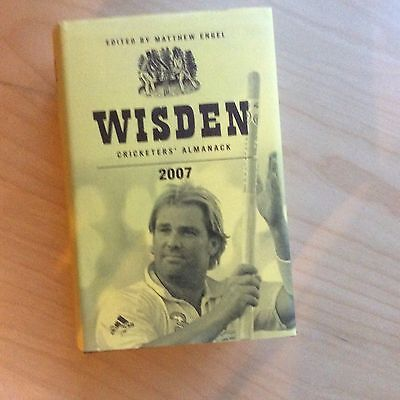 2007 Wisden Cricketers' Almanack Hard Backed Dust Jacket