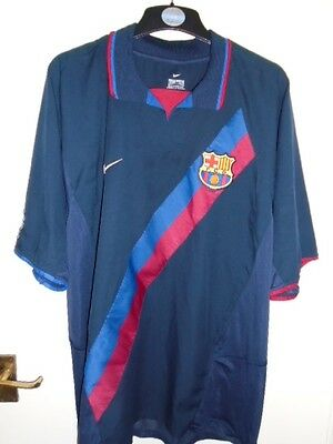Barcelona 2002 2004 away Shirt  XX Large