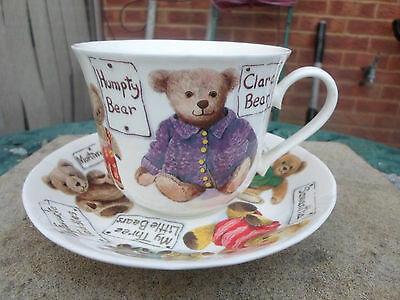 """Roy Kirkham """" My Favourite Teddies """" Large Cup and Saucer"""