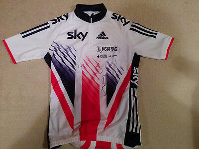British Cycling Rio 2016 Track Squad signed Jersey