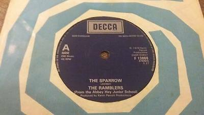 "The Ramblers "" The Sparrow "" Ex Vintage 45 Rpm"