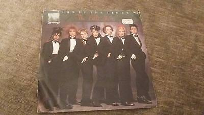 "THE BELLE STARS "" SIGN OF THE TIMES "" EX VINTAGE "" 7 single 45 RPM"