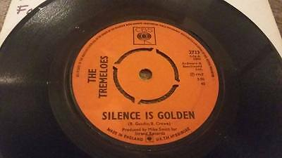 "The Tremeloes "" Silence Is Golden "" Vg Vintage 45 Rpm"