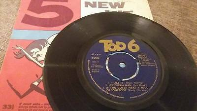 "Top 6 / Rare 1963 / Gerry & The Pacemakers / Tornados "" Vg Vintage 45 Rpm"
