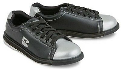 Womens Brunswick TZone Bowling Shoes Color Black/Silver Size 9