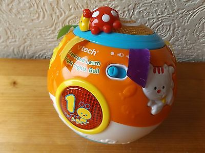 Vtech Crawl And Learn Bright Lights Ball With Music, Lights And Animal Sounds