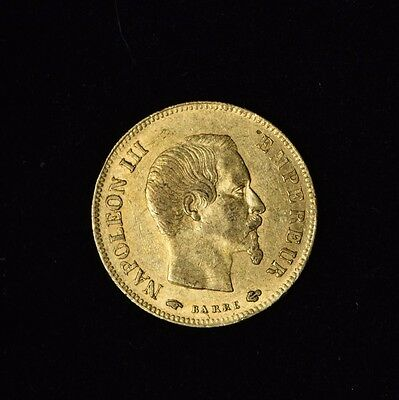 France 10 Francs Napoleon Iii 1857 A Gold Coin