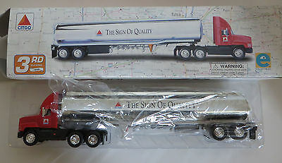 Citgo Gas Die Cast Tanker Truck Advertising 1998 3rd in Series