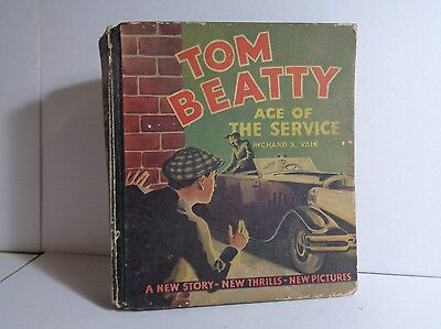 Tom Beatty Ace of the Service 723 (GVG) Whitman 1934 Big Little Book (c#12430)