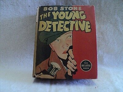 Bob Stone the Young Detective 1432 (VG-) Whitman 1937 Big Little Book (c#12225)