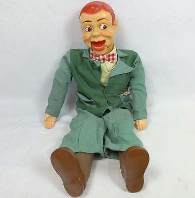 Vintage Paul Winchell's Jerry Mahoney Ventriloquist Dummy Doll String Puppet