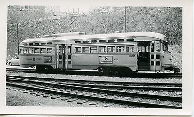 6E985 Rp 1958 Shaker Heights Rapid Transit Car #68 Cleveland Ohio