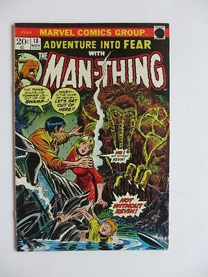 Adventures Into FEAR # 18 - Man-Thing! Horror Mystery MARVEL Check our comics