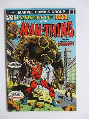 Adventures Into FEAR # 17 - Man-Thing! Horror Mystery MARVEL Check our comics