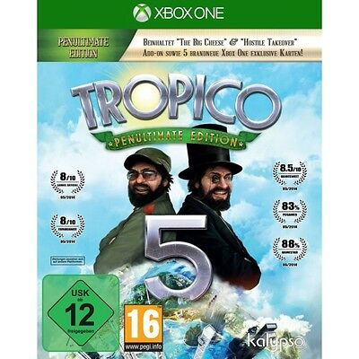 Tropico 5 Penultimate Edition Xbox One Game Brand New
