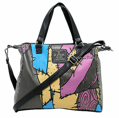 The Nightmare Before Christmas Sally Patchwork Tote Bag Purse Disney Loungefly