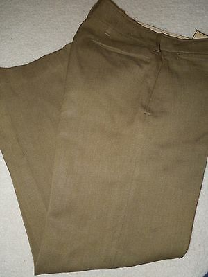 Pre-WWII US Army AAF 1937 Dated Enlisted Trousers Pants 30x31