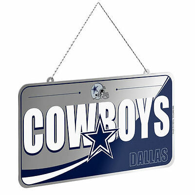 Dallas Cowboys License Plate Ornament - NFL