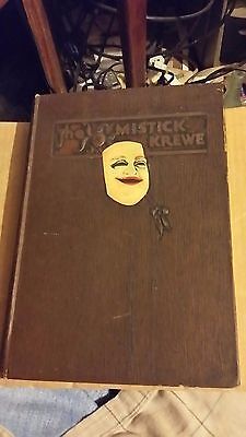 The Mistick Krewe by Perry Young 1931 Signed 1st Edition Carnival Press B1111.