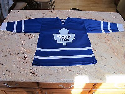 Vintage Ccm Youth L/xl Toronto Maple Leafs Jersey Very Good!!