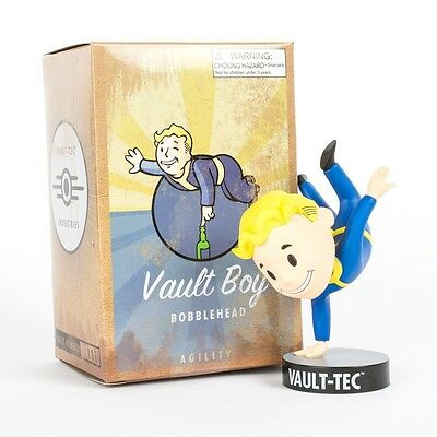"""Fallout 4 Vault Boy Agility 5"""" Bobblehead Series 3 Brand New Sealed Game Figure"""