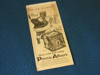 Christmas PrinceAlbert Magazine Ad - Original - 1954