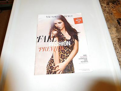 VICTORIA'S SECRET Catalog Fall Fashion Preview 2011, Vol 2 - ADRIANA LIMA!