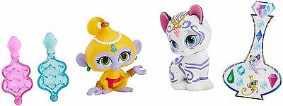 Fisher-price Shimmer & Shine Tala & Nahal Doll With Genie Gem Stickers