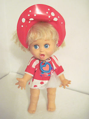 Vintage Galoob Baby Face SO SURPRISED SUSIE All Original With Necklace