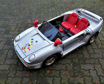 porsche 959 als elektrisches kinder fahrzeug auto eur. Black Bedroom Furniture Sets. Home Design Ideas