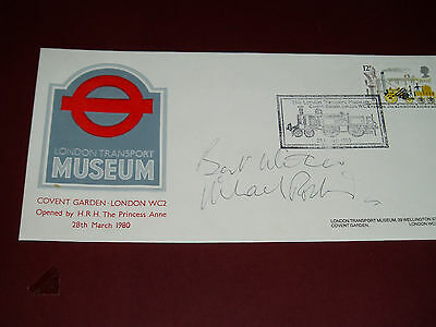 """MICHAEL ROBBINS........""""On The Buses"""".....(TV & Film).....HAND SIGNED AUTOGRAPH"""