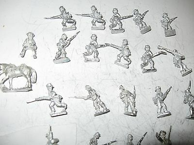 Wargames figures [14] -Confederate infantry -20 mm scale