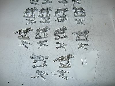 Wargames figures [16]-Confederate cavalry-20 mm scale