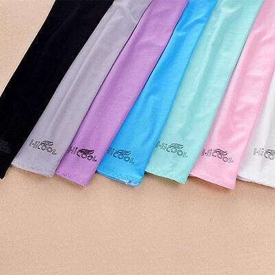 Cooling Athletic Sport Skins Arm Sleeves Sun Protective UV Cover Golf 1 Pair