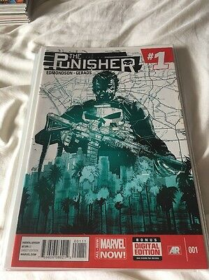 The Punisher Marvel Now Comic 1-8 New