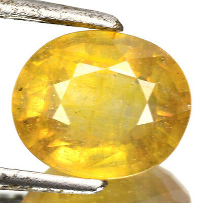 2.63 Cts Top Quality Rare Yellow Color Natural Sapphire Gemstones-Vs