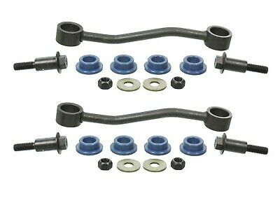 Pair Set of 2 Front Stabilizer Bar Links Moog for Ford F-450 SD F-550 SD