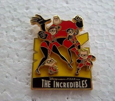 *~* Disney The Incredibles Collection The Family 3D Pin *~*